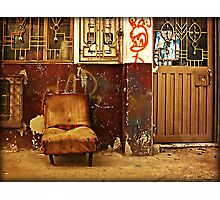 I Was  a Comfy Easy-chair... Photographic Print