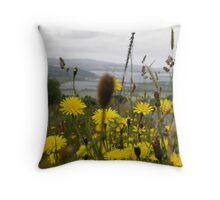 Flora - Burt Co. Donegal Ireland Throw Pillow