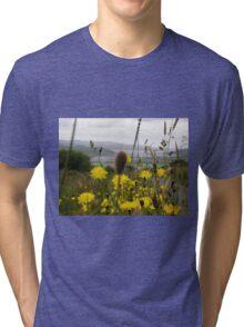 Flora - Burt Co. Donegal Ireland Tri-blend T-Shirt