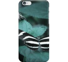 Zebra Longwing Butterflies iPhone Case/Skin