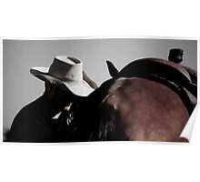Saddle up Poster
