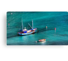 Marble Sea Canvas Print