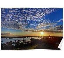 Susan River Sunset Poster