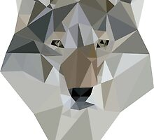 Polygon Wolf by SoStyle