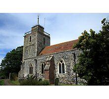 St Mary, Woodnesborough Photographic Print