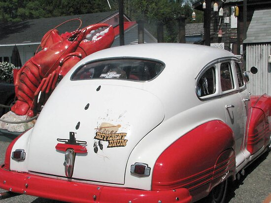 LobsterRestaurant Owners' 1946 Pontiac by Patty Gross
