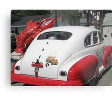 LobsterRestaurant Owners' 1946 Pontiac Metal Print