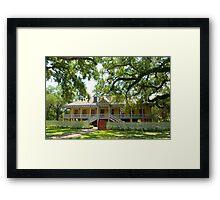 Laura Creole Plantation Framed Print