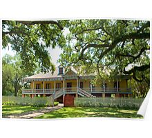Laura Creole Plantation Poster