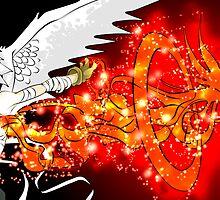 Angel Burst by Michael Hall