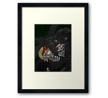 Big Bad Wolf Framed Print