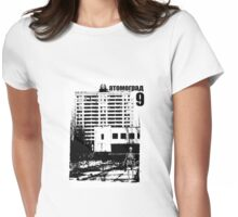 Atomgrad 9 - Atom City (v4.0) Womens Fitted T-Shirt