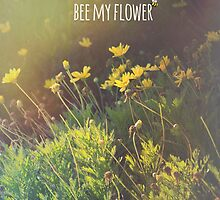 Bee My Flower by VictoriaHerrera