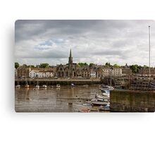 Newhaven Harbour Canvas Print