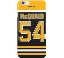 Boston Bruins Adam McQuaid Jersey Back Phone Case iPhone Case/Skin