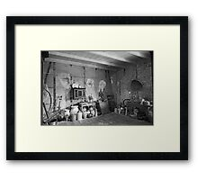 Pantry at Laura Creole Plantation Framed Print