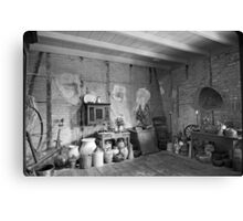 Pantry at Laura Creole Plantation Canvas Print