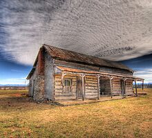 Dogtrot Cabin by C David Cook