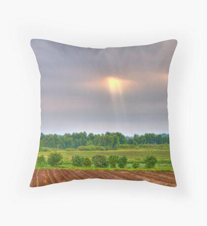 Shine a Little Light on Me-2 Throw Pillow
