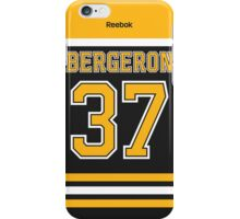 Boston Bruins Patrice Bergeron Jersey Back Phone Case iPhone Case/Skin