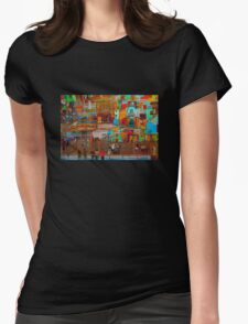 La Boca - Buenos Aires, ARGENTINA Womens Fitted T-Shirt