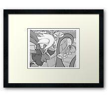 Shiori Knights Framed Print