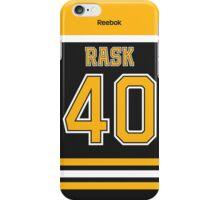 Boston Bruins Tuukka Rask Jersey Back Phone Case iPhone Case/Skin