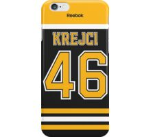 Boston Bruins David Krejci Jersey Back Phone Case iPhone Case/Skin