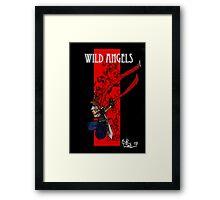 Wild Angel Cover Framed Print