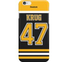 Boston Bruins Torey Krug Jersey Back Phone Case iPhone Case/Skin