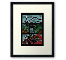 Wild Angel page Framed Print