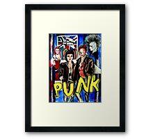 Punk Rock Style  Framed Print