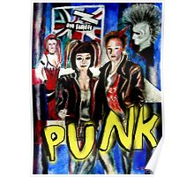 Punk Rock Style  Poster