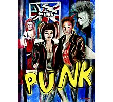 Punk Rock Style  Photographic Print