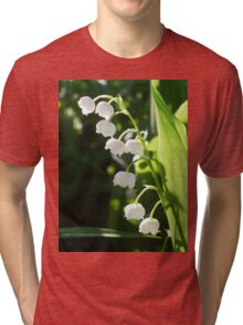Lily-Of-The-Valley Tri-blend T-Shirt