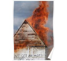Shot down in flames! Poster