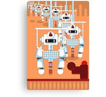 Robot Assembly Canvas Print