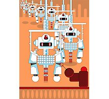 Robot Assembly Photographic Print