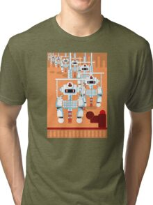 Robot Assembly Tri-blend T-Shirt