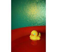 Get those ducks WET!! Photographic Print