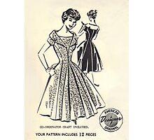 Patt - O - Rama Pattern 1083 : Circa Early 1950's Photographic Print