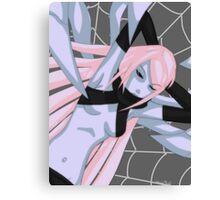 Blue Widow Canvas Print