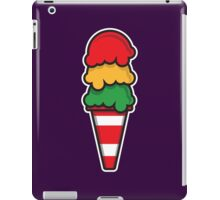 Traffic Cone Ice Cream iPad Case/Skin