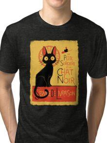 La Petite Sociere et le Chat Noir - Service de Livraison Tri-blend T-Shirt