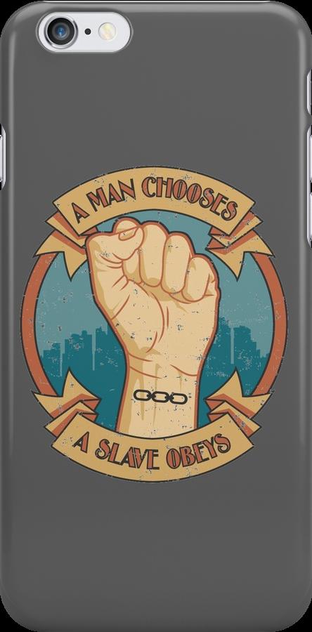 A Man Chooses, A Slave Obeys  - Bioshock by Adho1982