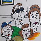 Family friends by IrisGelbart