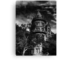Gotham City house Canvas Print