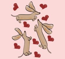 It's raining hearts and hunds by Diana-Lee Saville