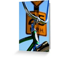 Speed Limits Greeting Card