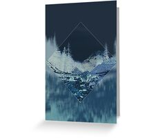 Into the Woods Invert Greeting Card